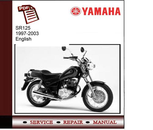 Yamaha Sr125 1997-2003 Grizzly Service Manual