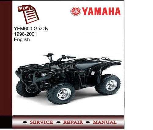 Wiring Diagram For 1998 Yamaha Grizzly 600 : Yamaha yfm grizzly  service manual download