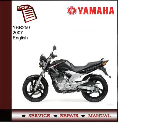 yamaha ybr250 2007 service manual download manuals. Black Bedroom Furniture Sets. Home Design Ideas