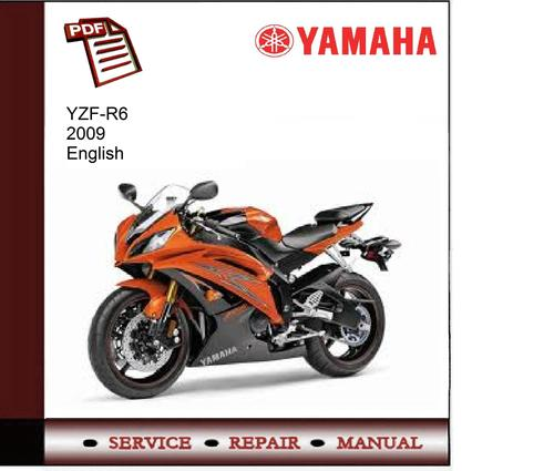 yamaha yzf r6 2009 service manual download manuals. Black Bedroom Furniture Sets. Home Design Ideas