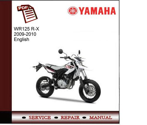 yamaha wr125 r x 2009 2010 service manual download manuals rh tradebit com WR Yamaha 125 Enduro Tunning Yamaha WR 125