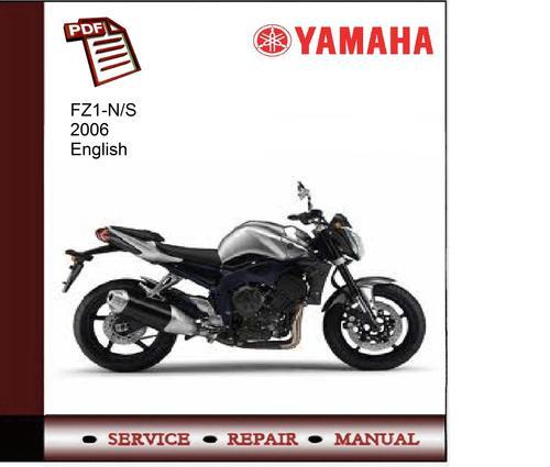 yamaha fz1 ns 2006 service manual download manuals technical rh tradebit com yamaha fz1 service manual download yamaha fz1 workshop manual