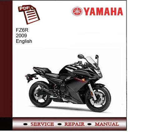 Pay for Yamaha FZ6R 2009 Service Manual
