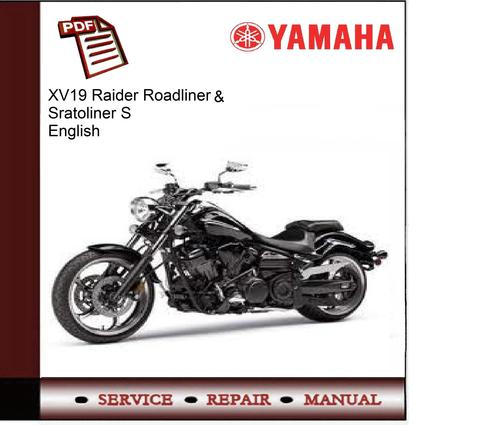 yamaha xv19 raider roadliner stratoliner s service manual downl rh tradebit com yamaha raider repair manual yamaha raider service manual pdf