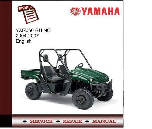 Yamaha Rhino  Service Manual Pdf