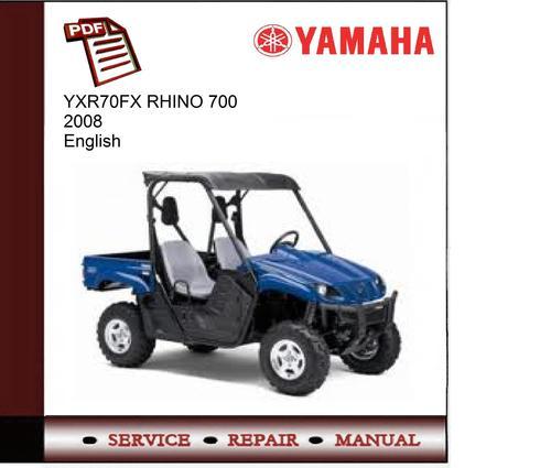 Yamaha Rhino  Service Manual