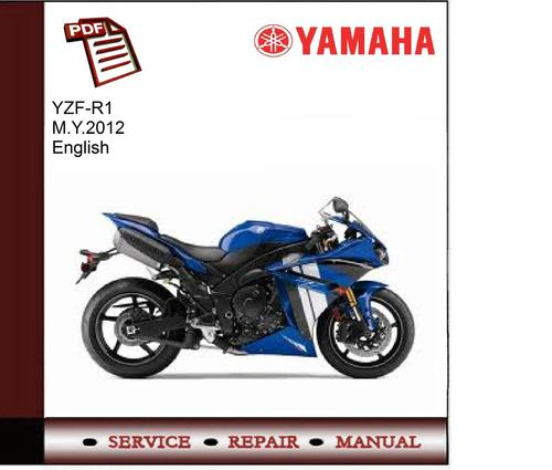 yamaha yzf r1 m y 2012 service manual download manuals tech rh tradebit com 2012 yamaha r1 service manual pdf 2012 yzf r1 service manual