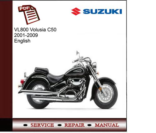 Suzuki Vl800 Volusia C50 2001