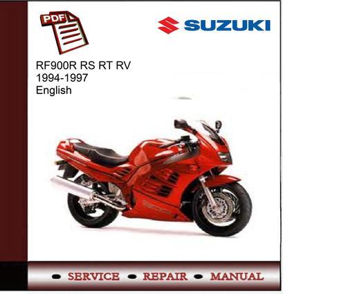 suzuki rf900r rf 900r 1996 repair service manual