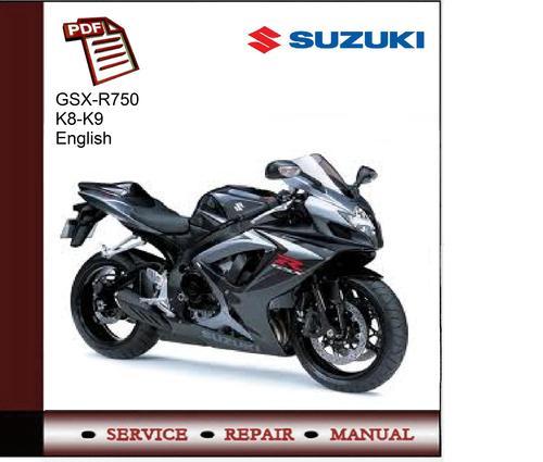 suzuki gsx r750 k8 k9 service manual download manuals tech rh tradebit com 2001 Suzuki GSX 750 Suzuki GSX 250 2017