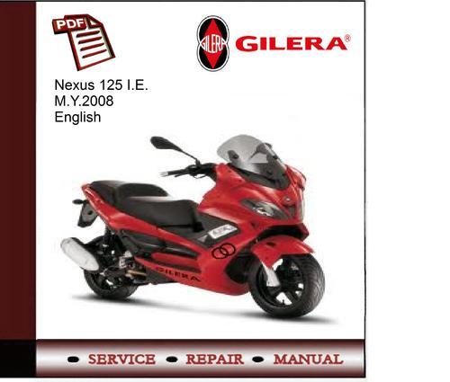 gilera nexus 125 manual pdf