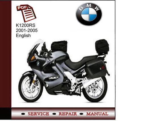 bmw k1200rs 2001 2005 service manual download manuals. Black Bedroom Furniture Sets. Home Design Ideas