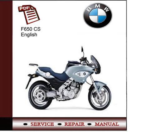 Bmw F 650 Cs Service Manual