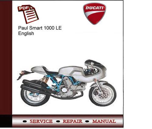 ducati paul smart 1000 le service manual download. Black Bedroom Furniture Sets. Home Design Ideas