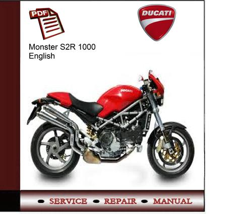 ducati monster s2r 1000 service manual download manuals. Black Bedroom Furniture Sets. Home Design Ideas