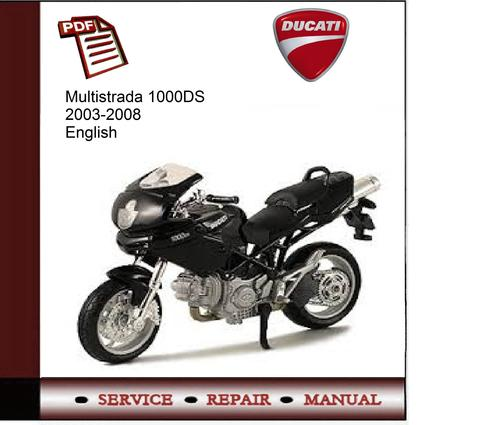 ducati multistrada 1000ds 2003 2008 service manual download manu rh tradebit com