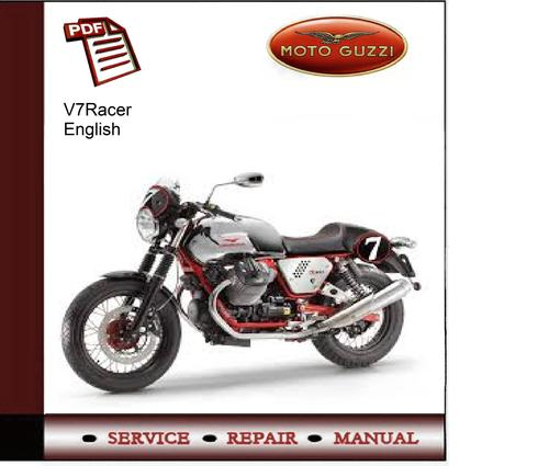 Pay for Moto Guzzi V7Racer Service Manual