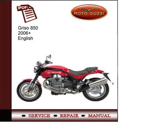 moto guzzi griso 850 2006 service manual download. Black Bedroom Furniture Sets. Home Design Ideas