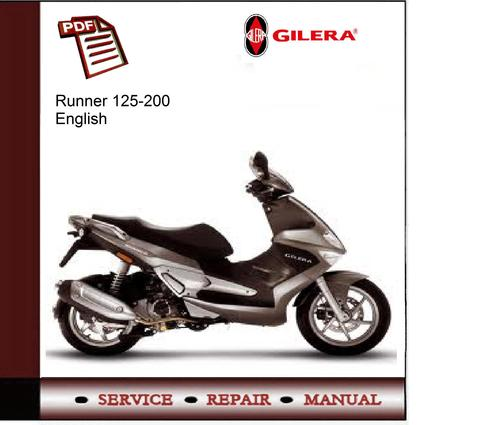 Haynes manual for gilera scooters.