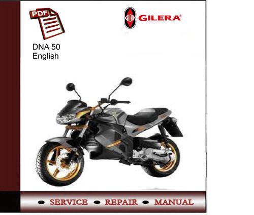 gilera dna 50 manual pdf download