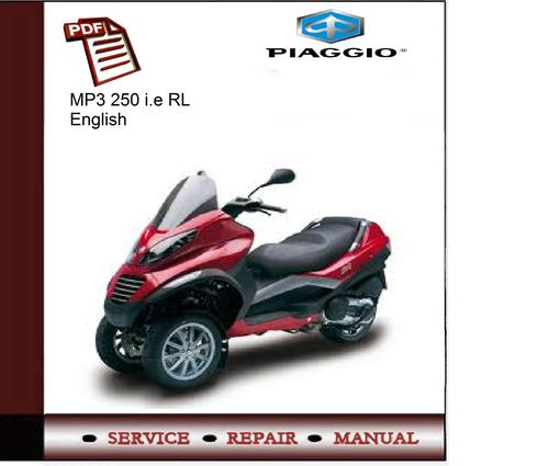 piaggio mp3 250 i e rl service manual download manuals tec rh tradebit com Piaggio MP3 for Sale Price Piaggio MP3 Price in India