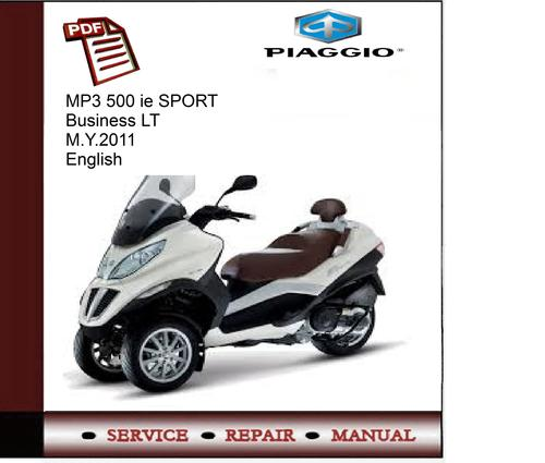 piaggio mp3 500 ie sport buisness lt m service. Black Bedroom Furniture Sets. Home Design Ideas