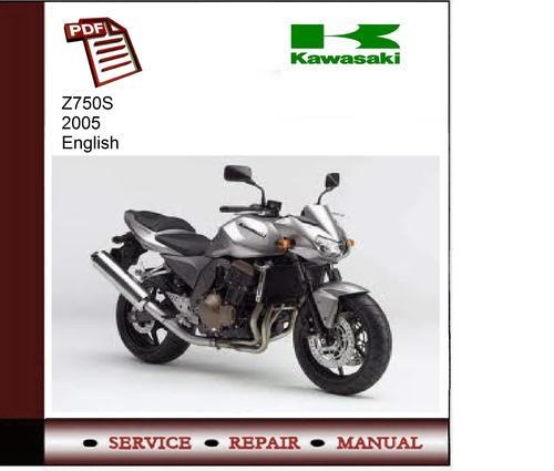 Pay for Kawasaki Z750S 2005 Service Manual