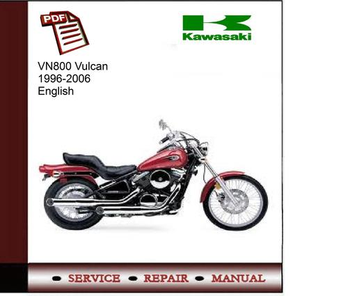 kawasaki vn800 vulcan 1996 2006 service manual download manuals rh tradebit com kawasaki vn 800 service manual download kawasaki vulcan 800 service manual pdf free