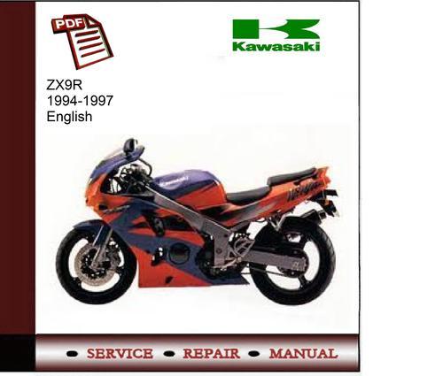 Free Kawasaki ZX9R 94-97 Service Manual Download thumbnail