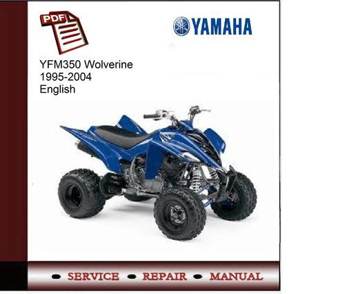 Yamaha Yfm350 Wolverine 1995-2004 Service Manual
