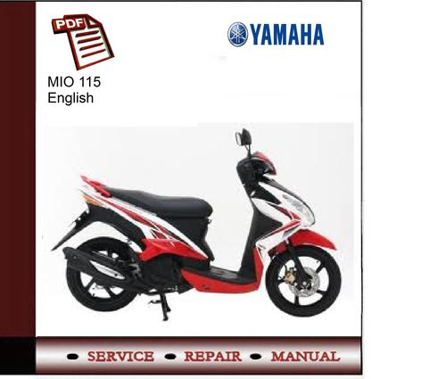 Yamaha Mio 115 Service Manual