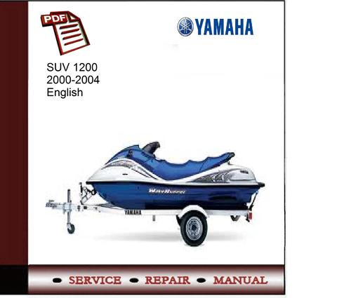 yamaha suv 1200 2000 2004 service manual download manuals t rh tradebit com Polaris Jet Boats Yamaha Jet Boats Steering
