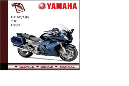 Yamaha Fjr service Manual Download