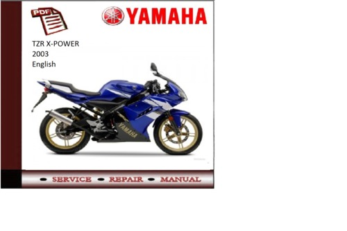 yamaha x power 2003 workshop service repair manual. Black Bedroom Furniture Sets. Home Design Ideas