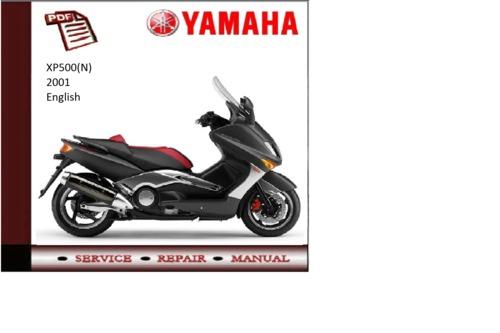 Pay for Yamaha xp500(n) 2001 workshop Service repair Manual