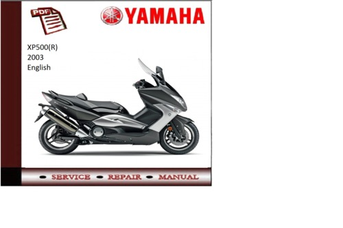 yamaha xp500 r 2003 supplementary service repair manual. Black Bedroom Furniture Sets. Home Design Ideas
