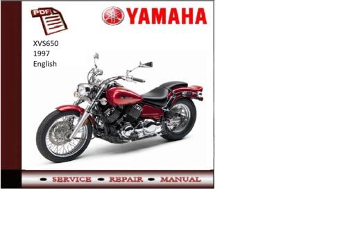 free 1997 yamaha xvs650 workshop service repair manual. Black Bedroom Furniture Sets. Home Design Ideas