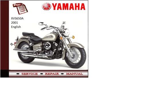 yamaha xvs 650 service manual pdf