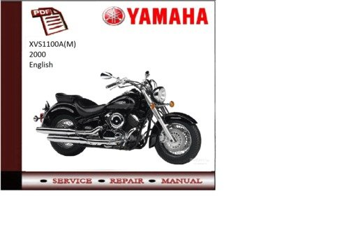Yamaha xvs1100a m 2000 supplementary service repair for Yamaha rx v1600 manual