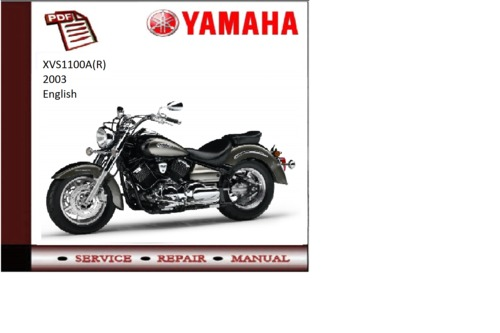 yamaha xvs1100a r 2003 supplementary service repair. Black Bedroom Furniture Sets. Home Design Ideas