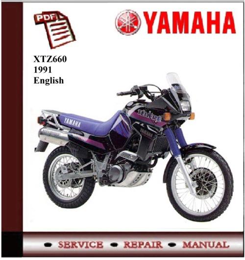 yamaha xtz660 1991 workshop service repair manual. Black Bedroom Furniture Sets. Home Design Ideas