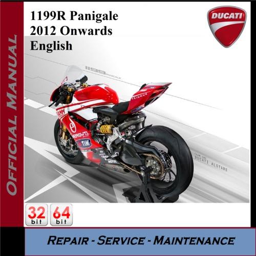 Ducati 1199R Panigale 2012Onwards Workshop Service Manual