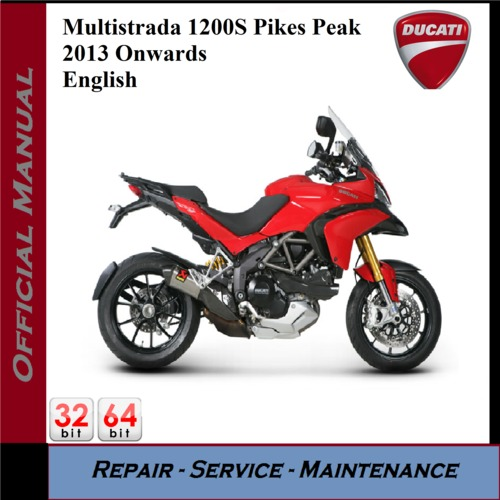 Ducati Multistrada Repair Manual