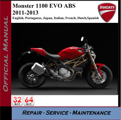 2009 ducati monster 1100 service manual