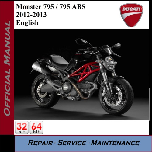 Ducati Monster 795    795 Abs 2012
