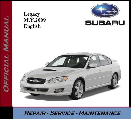 Pay for Subaru Legacy M.Y. 2009 Service Repair Workshop Manual