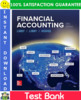 Thumbnail Financial Accounting 10th Edition Test Bank by Libby, Libby, Hodge