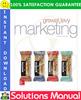 Thumbnail Marketing 7th Edition Solutions Manual by Grewal, Levy