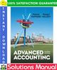 Thumbnail Advanced Accounting 4th edition Solutions Manual by Patrick E. Hopkins; Robert F. Halsey