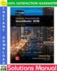 Thumbnail Computer Accounting With Quickbooks 2018 18th Edition Solutions Manual by Donna Kay